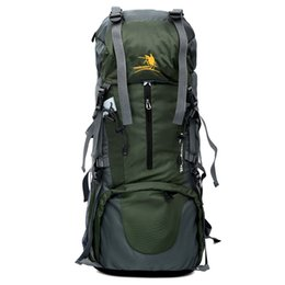 Discount trekking gear - Best Large 70L Free Knight Professional CR System Climb backpack Travel Camp Equipment Hike Gear Trekking Rucksack for M