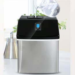 Machine cube online shopping - High Efficiency Electric Commercial Household Ice Making Machine KG Countertop Automatic Ice Cube Maker For Sale