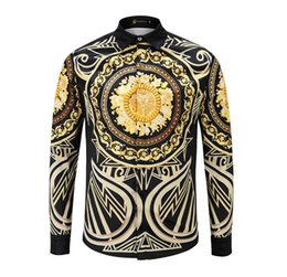 China Men Shirt Long Sleeve Print Mens Dress Shirts Formal Shirts Designs Social Masculina Men Business Shirt b22 cheap designs dress suppliers
