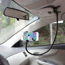 Evrensel Araba 360 Derece Dönen Esnek clip-Tutucu Dağı Kiti Eller Serbest Gooseneck Dağı Telefon Tablet XXM8