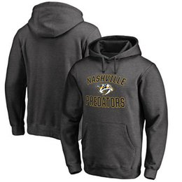 China Men Women Youth Kids Custom Nashville Predators Cheap Top Quality Embroidery Navy Red Yellow Grey Hockey Hoodies with Any Name & Any No. cheap cheap name hoodies suppliers