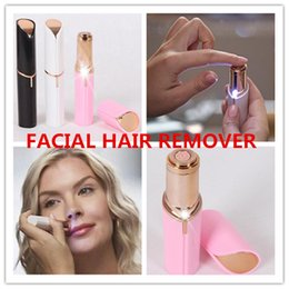 Discount new hair shaver - NEW Electric Shaver Razor Wax Flawles facial hair removal Women Lipstick portable mini Hair Remover Trimmer Machine Shav