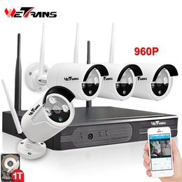 CCtv dvr Camera system 4Ch kit online shopping - Wireless Video Surveillance System CH Kit Plug Play P2P HD P m Night Vision Waterproof Camera DVR Wi fi CCTV Kit