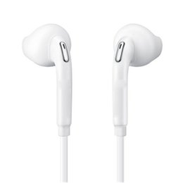 samsung note earbuds 2019 - S6 Stereo Headset earphones Brand new 3.5mm Earphone With Volume Mic Earbuds for Samsung Galaxy S2 S3 S4 S5 S8 Note 2 3