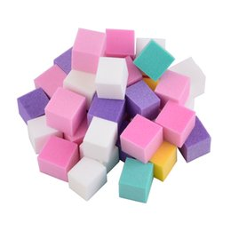 $enCountryForm.capitalKeyWord UK - Files & Buffers 1Bag 60 Pcs Nail File Mini Irregular Nail Buffer File Colorful Sanding Sponge Buffer Block Polisher For Manicure