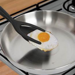 Plastic Pie online shopping - Creative Egg Spatula Pie Servers Tweezers IN Flip Perfect Pancake Making Useful Easy Baking Cooking Shovel Useful Home Kitchen Tool