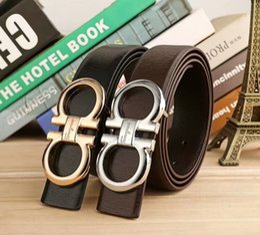 Band Belts NZ - South Korean leather smooth buckle men belt youth belt band tide2018