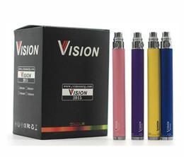 $enCountryForm.capitalKeyWord UK - cheapest Vision Spinner electronic cigarette ego c twist 3.3-4.8V Variable Voltage VV battery 650 900 1100 1300 for e cig atomizer