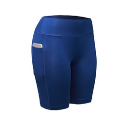 $enCountryForm.capitalKeyWord UK - Quick Dry Compression Shorts Women Elastic Running Fitness Gym Shorts Female Fitness Workout with Pocket