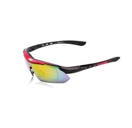 6d39df3ad6 WOLFBIKE Polarized 5 Lens Cycling Eyewear Gafas de sol Hombres Deportes  Gafas de bicicleta Gafas de sol para conducir Esquí Gafas de protección Rojo