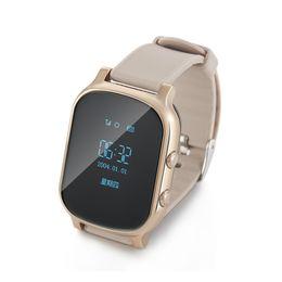 $enCountryForm.capitalKeyWord UK - OLED Screen T58 Smart GPS WIFI Tracker Locator Anti-Lost Watch for Kid Elder Child Student Smartwatch with SOS Remote Monitor