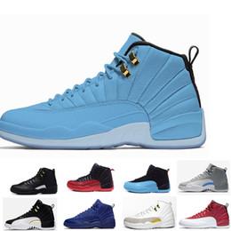 b214177ac12674 Cream 12s Canada - Hot Basketball shoes 12 12s Bordeaux Dark Grey wool  white Flu Game