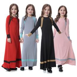 71da212f793 IndonesIa dresses online shopping - Kids islamic dress girl indonesia  clothing arab female dress long muslim