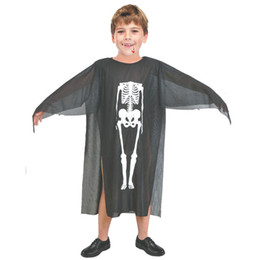 Discount scary woman costumes - Halloween Costumes Skull Skeleton Monster Demon Ghost Scary Costume Clothes Robe for Adult Men Women Children Kids Cospl