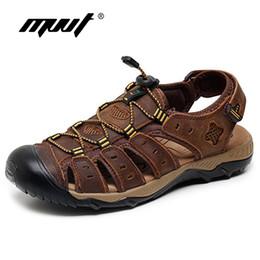 19c9657ffa26 2017 Classics summer sandals men quality genuine leather men sandals  comfort plus size sandal men summer shoes
