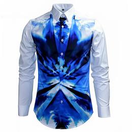 $enCountryForm.capitalKeyWord Canada - Mens Fancy Shirts Retro Luxury Shirt Long Sleeve Cotton Button Dress Shirts Man Casual Slim Fit Noble Classic Chic Royal Shirt