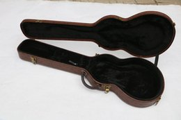 ee1419ee1d Guitar cases online shopping - brown guitar hard case Sold with the guitar  chibson electric guitar
