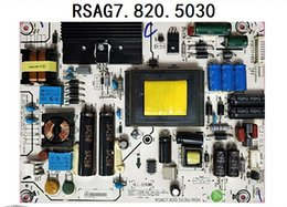 Lcd power suppLy board unit online shopping - Original LCD Monitor Power Supply Board TV Board PCB Unit RSAG7 ROH For Hisense LED42A300 H130