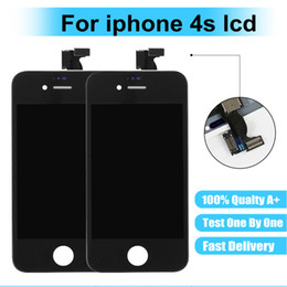 Wholesale Price For Iphone 4s Australia - Top sales Factories Prices Triple A 3.5 inches For 4s LCD Display Digitizer Screen Assembly For 4s Repair Part No Dead Pixels
