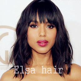 $enCountryForm.capitalKeyWord NZ - Short Human Hair Bob Wigs for Black Women Wavy Lace Front wigs Peruvian Glueless Lace Front Wigs with Baby Hair