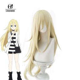 Discount hair angels - ROLECOS Anime Angels of Death Cosplay Hair Rachel Gardner Headwear Satsuriku no Tenshi Cosplay Hair Women Synthetic