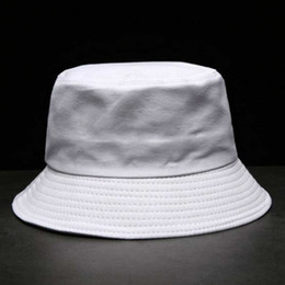 73a081e8822 2018 new Fisherman s Hat Korean version of the personality striped letters  embroidered basin caps Outdoor Visor Sunscreen folding sun hat