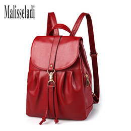 korean style female backpack 2019 - WOMEN BAG NEW FASHION Women's BACKPAC2018 Casual Preppy Korean Style Female Ladies Backpack For Girls Pu Leather Sh