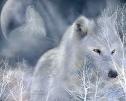 $enCountryForm.capitalKeyWord Australia - Modern Contemporary Fantasy Wolf Animal Art Abstract Oil Painting Giclee Print On Canvas Wall Art For Living Room Home Poster Decor MY454