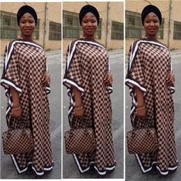 Dree طول 128cm ، تمثال نصفي: 176cm جديد موضة اللباس للمرأة الأنيقة المتضخم اللباس الطباعة الأفريقية