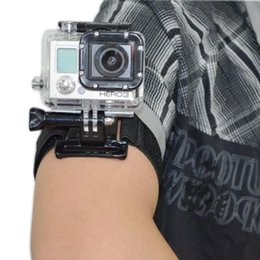 adjustable arm for camera NZ - Adjustable Wrist Band Arm strap for Action Camera Hero 7 6 5 4 3+ 3 5 4 session sj xiao yi