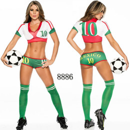 $enCountryForm.capitalKeyWord UK - Sexy Lingerie Uniform Soccer Player Cheerleader World Cup Football Girl party dress Fancy Dress Costume SM8886