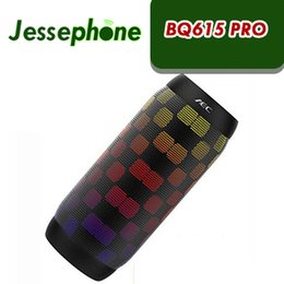 mp3 player sd card style 2019 - BQ 615 PRO portable handree supper bass stereo wireless bluetooth v4.2 speaker FM SD CARD loudspeakers 6 led styles musi