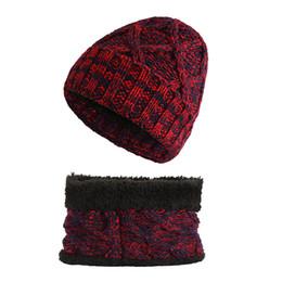 8c189a662a4 Children Winter Scarf Hat Set Warm Soft Girls Boys Soft Fleece Beanie Caps  Knitted Baby Snood Kids Autumn 1-8 Year Accessories