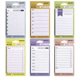 school weekly planner 2019 - New 6 style cute weekly planner memo pad office school supply kawaii notes post it sticker scrapbook filofax agendas sch