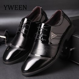 pointed shoes price men Australia - YWEEN New Men's Dress Shoes Men Business Flat Shoes Competitive price Breathable Men Formal Office Shoes Plus Size 38-47