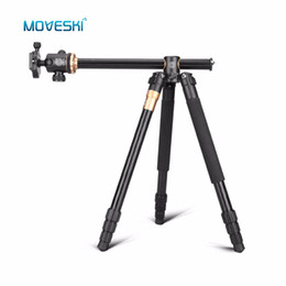 tripod for macro Australia - wholesale Q999H Transverse Professional Aluminium Alloy Camera Tripod & Ball Head 360 degree Macro Shooting For DSLR SLR Camera