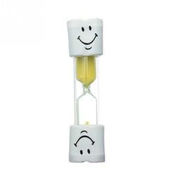 $enCountryForm.capitalKeyWord Canada - Kids Cute Toothbrush Hourglass Sandglass Glass Smiley Smile Sand Egg Timer Toy