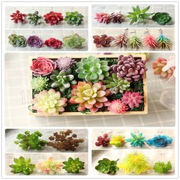 Plastic flower wedding centerpieces online shopping plastic flower 67 styles artificial succulents wedding decoration centerpieces home decor plastic artificial plants real touch fake flowers mma212 junglespirit Image collections
