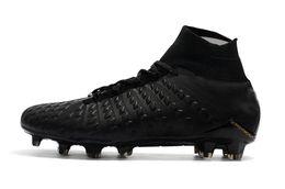 $enCountryForm.capitalKeyWord UK - Original Black Gold Soccer Shoes Hypervenom Phantom III DF FG39-45 Soccer Cleats