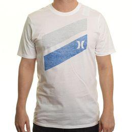 Custom Print T Shirt Cheap Australia - Tops wholesale Tee custom Environmental printed Tshirt cheap Hurley T-Shirt ~ Slash Push Through white Fashion Style Men Tee