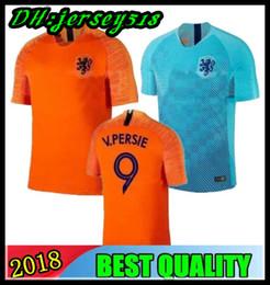 2018 19 netherlands soccer jersey home orange 18 19 Holland national team JERSEY  memphis SNEIJDER V.Persie Dutch football shirts 2f5aaf975