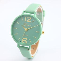 Discount faux leather bracelets - 2017 Fashion Women Bracelet Watch Famous brand Ladies Faux Leather Analog Quartz Wrist Watch Clock Women relojes mujer
