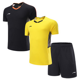 cd1f70470 2018 novas mulheres homens sportswear badminton camisa voleibol de golfe  tênis de mesa t-shirt