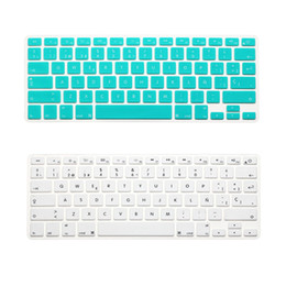 $enCountryForm.capitalKeyWord NZ - US Version Spanish Spain Language Silicone Keyboard Cover For Macbook Air Pro Retina 13 15 17inch keyboard Film 14 colors