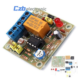 China OPS-1 DIY Light-Operated Switch Kit Light Control Switch Photosensitive Electronic Circuit Production Funny Suite DC 5~6V cheap funny videos suppliers