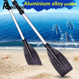 Wholesale Oars Boat Paddles Water Outdoor Beach Adjustable Yacht Paddles Alloy Pair Canoe