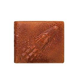 c2a2b687723b4 Designer Mens Wallet Card Holder Alligator Leather Luxury Designer Brand Men  Wallets Cool Wallets For Men