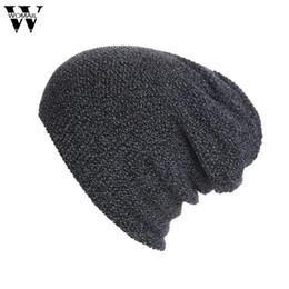 1832e7f5ee06 Gorro Winter Beanie Men Hat Women Snow Knit Hats and Caps Chunky Baggy Warm  unisex Skullies Amazing