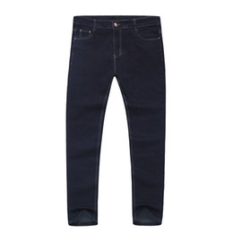 b09256730a3a7 High Quality Men Plus Big Size Pants 38 40 42 44 46 48 50 52 Mens High Stretch  Big and Tall Large Trouser Jeans for Men 2018