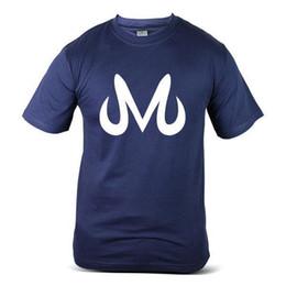 4eb8e1a21 7355-NV Dragon Ball Z Goku Saiyan Majin Buu Muscle Navy Blue Mens Tee T- Shirt